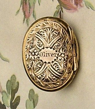 19th century memorial lockets mozeypictures Choice Image